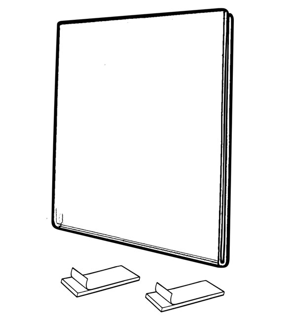 Fold Over Wall Frames