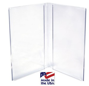 Book Style Table Tent
