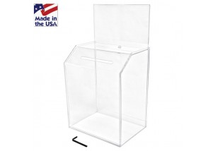 Large Ballot Box with Riser
