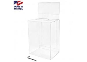 Medium (Clear) Ballot Box