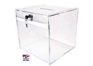 Deluxe (Clear) Ballot Box
