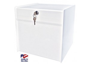 Deluxe (White) Ballot Box