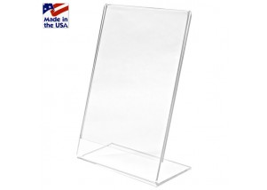Acrylic Angled Ad Frames