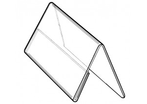 Plastic Countertop Tent