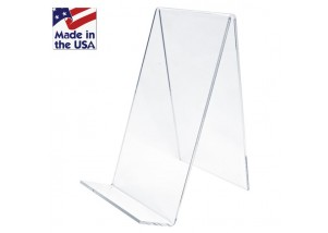 Clear Small Countertop Table Top J Stands