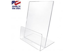 Clear Small Easel Stands with Lip