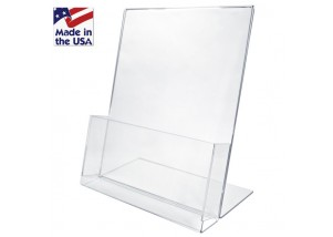 """Large Easel Stand with Box 8.5""""wide x 11""""high"""