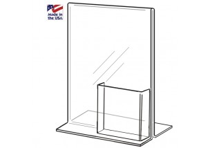 Bottom Loading Frame with Tri-Fold Pocket