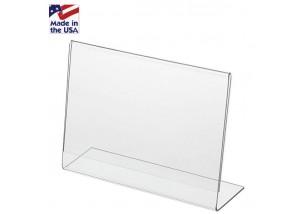 Acrylic Horizontal Ad Frame