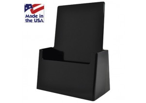 Black Pamphlet Holder