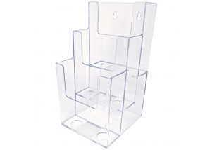 3 Tiered Brochure Holder