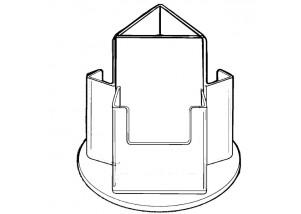 3 Pocket Rotating Holder