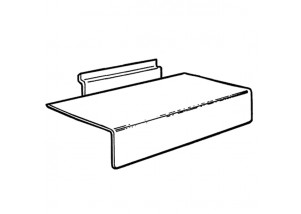 Slatwall Shelves with Lip