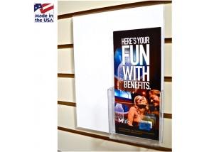 Slatwall Poster Frames with Pocket