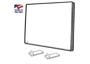 """Acrylic Fold Over Wall Poster Frame 7""""wide x 5""""high"""