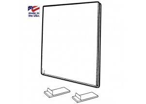 Plastic Wall Mount Sign Holder